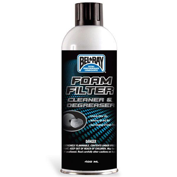 FOAM FILTER CLEANER & DEGREASER  BEL-RAY
