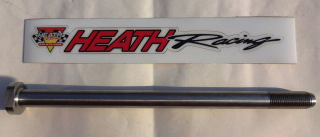 Heath Racing Cobra ECX Titanium Swingarm Bolt & Nut